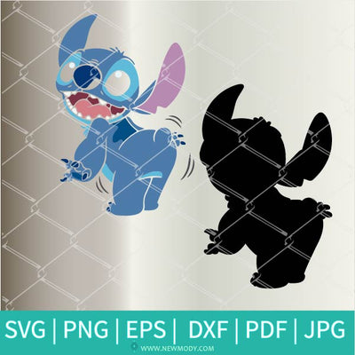 Funny Stitch SVG- Stitch Vector Clipart