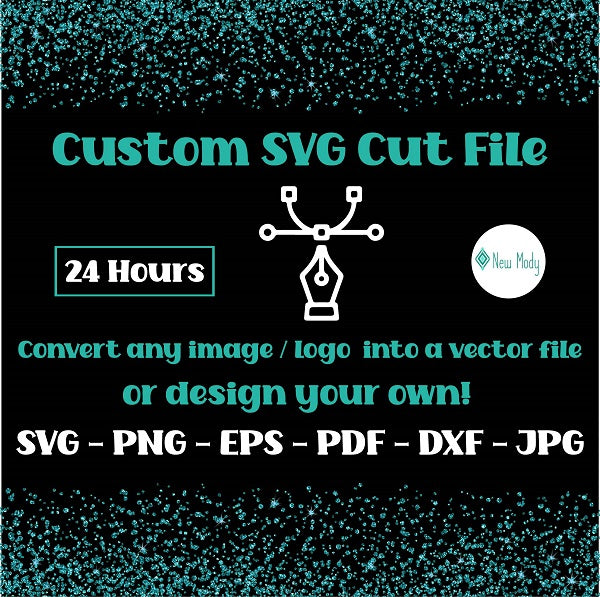 Custom SVG Cut File | Custom PNG | Custom Shirt design | Convert An Image To Vector