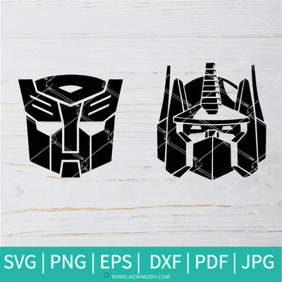 Bumblebee And Optimus Prime SVG - Transformers SVG - Bumblebee SVG - Optimus Prime SVG