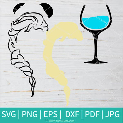 Let It Flow SVG - Princess Elsa SVG