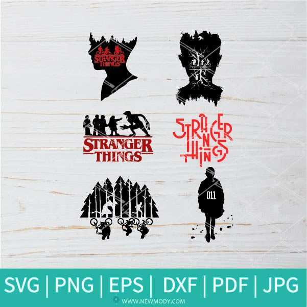 Stranger Things SVG - Friends Horror Movie SVG - Netflix SVG - TV SVG