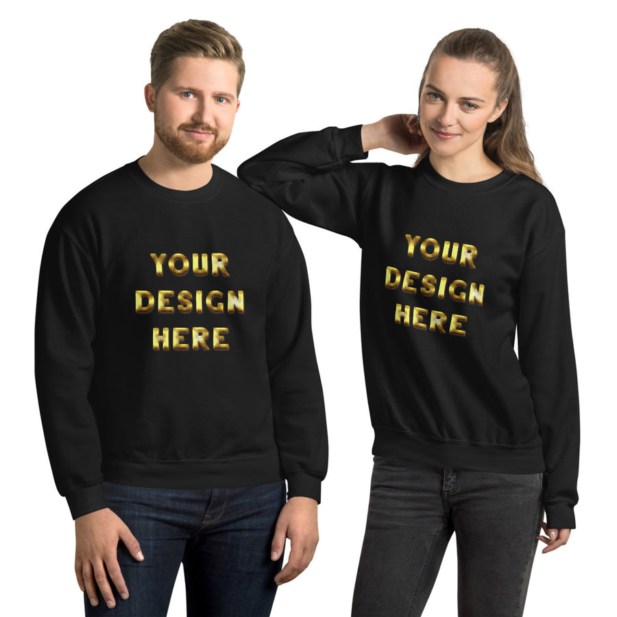 Custom Unisex Sweatshirt