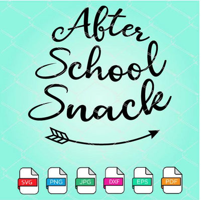 After School Snack SVG Newmody