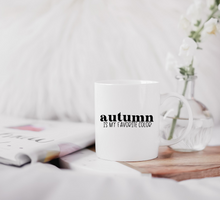 Load image into Gallery viewer, Autumn Is My Favorite Color Hand Lettered SVG File