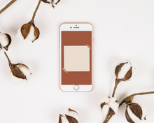 Load image into Gallery viewer, Golden Boho Style Instagram Story Backgrounds