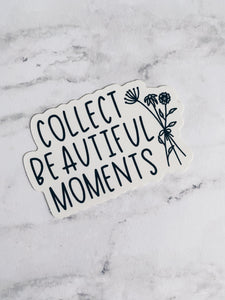 Collect Beautiful Moments Die-Cut Sticker