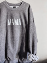 Load image into Gallery viewer, Heather Grey Mama Sweatshirt