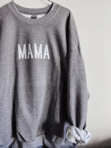 Heather Grey Mama Sweatshirt