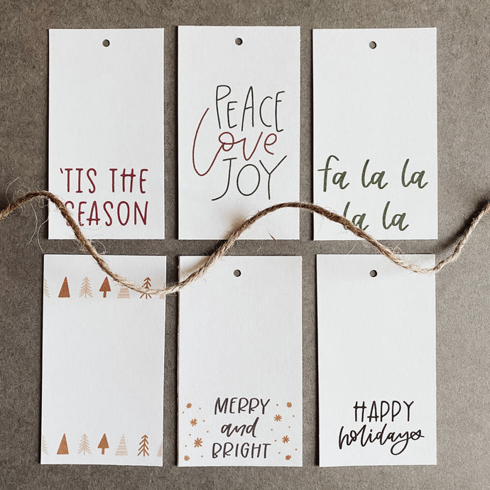 Christmas Gift Tags Pack