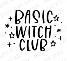 Load image into Gallery viewer, Basic Witch Club SVG