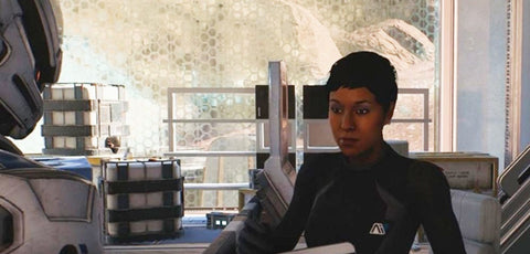 Mass Effect Andromeda Trans Character