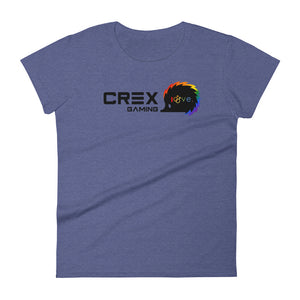 Her CRex is Love Short Sleeve T-shirt