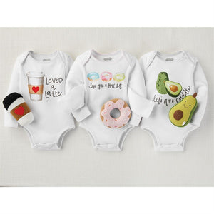 Food Knit Rattle Gift Sets
