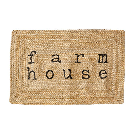 Farmhouse Jute Mat