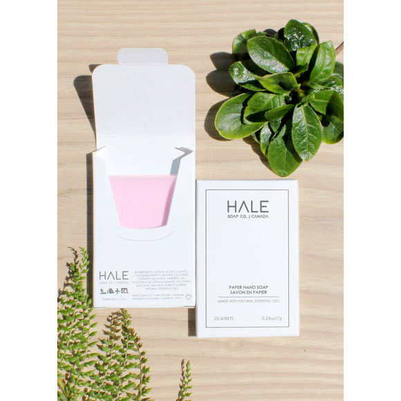 Paper Soap by Hale Soap Co.