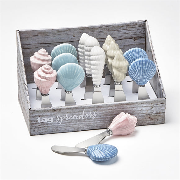 Coastal Shell Spreaders Assorted