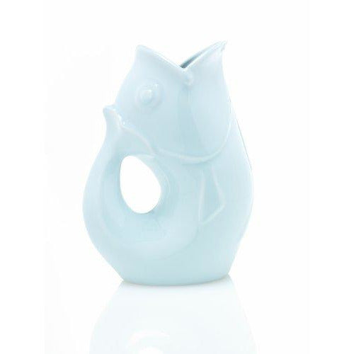 Light Blue Gurgle Pot