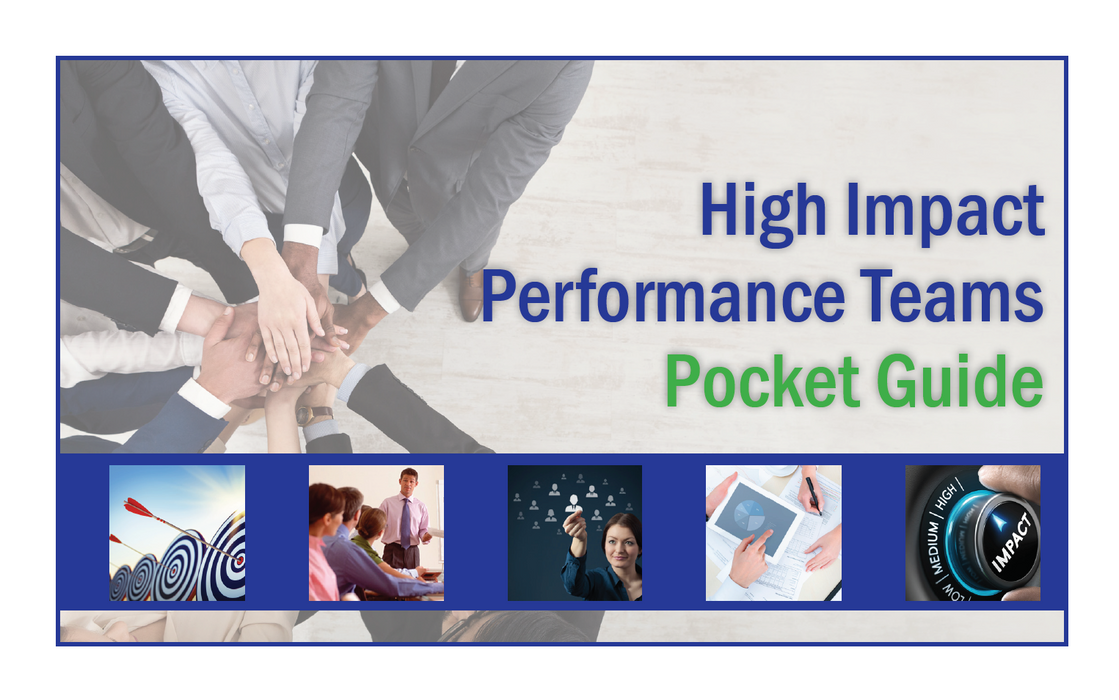 (Retail) High Impact Performance Teams Pocket Guide