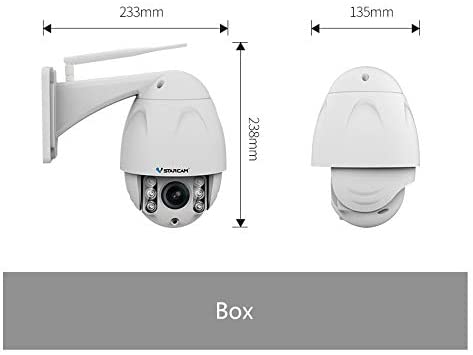 VStarcam C34S-X4 Full 1080P HD Wireless IP Camera 4-Times Zooming Long Distance Outdoor Waterproof Surveillance Security