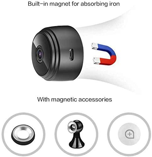 DAMAX-A Wireless A9 Mini Hidden WIFI 1080P HD Portable Night Vision Motion Detection Covert Security Camera Indoor Outdoor