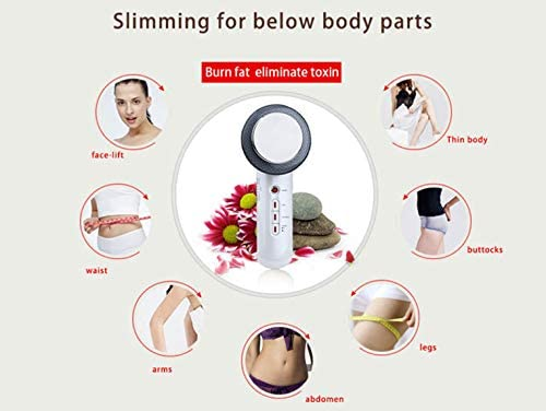 DAMAX-A Ultrasonic 3 In 1 Massage Cavitation Galvanic Infrared EMS Fat Burner SPA Body Anti Cellulite Skin Care Fat Removal
