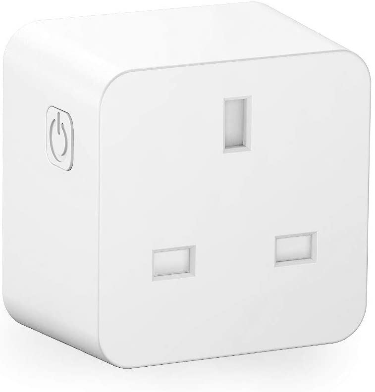DAMAX-A Smart Plug WiFi Socket Alexa Echo Smart Plugs Voice App Control Timer with WiFi 2.4GHz