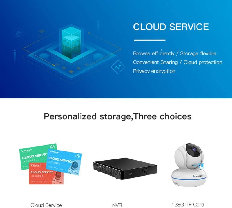 Vstarcam C22Q Full HD WiFi IP Camera Cloud Storage