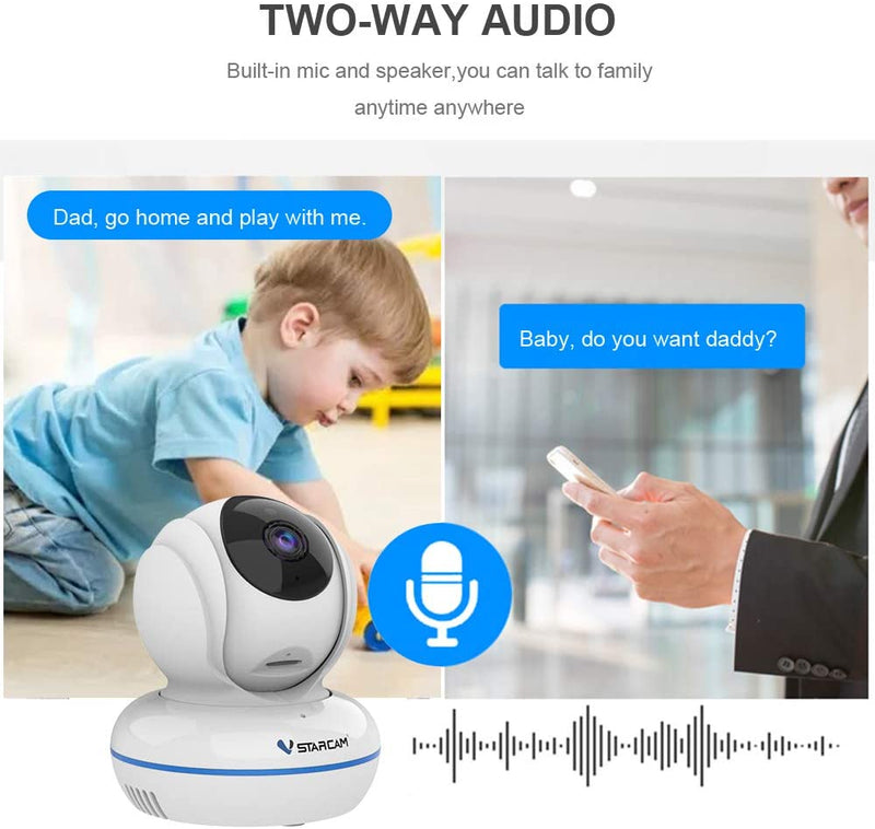 Vstarcam C22Q Full HD WiFi IP Camera Audio