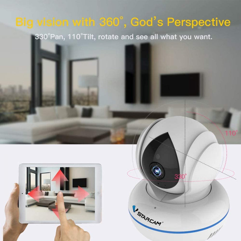 Vstarcam C22Q Full HD WiFi IP Camera 360