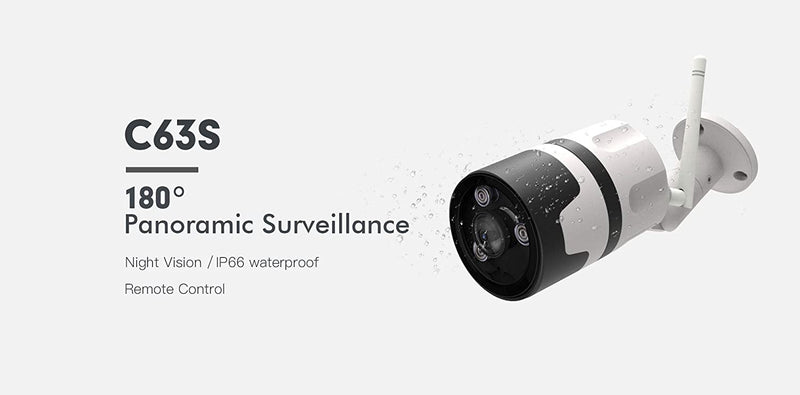 Vstarcam C63S 1080P Outdoor WiFi IP66 2MP IP Camera Security Waterproof Surveillance Security