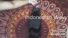 Load and play video in Gallery viewer, Raw Indonesian Wavy
