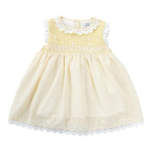 """Grace"" Lemon Smock Dress"