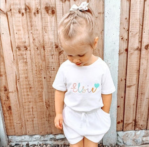 Cotton Personalised Playsuit