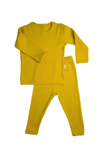 Load image into Gallery viewer, Mustard Ribbed Loungewear