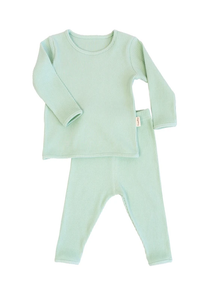 Seafoam Ribbed Loungewear