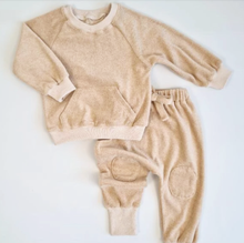 "Load image into Gallery viewer, ""Sand"" Teddy Tracksuit"