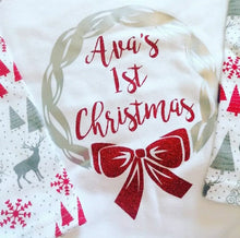 Load image into Gallery viewer, Personalised Kids Christmas Pyjamas