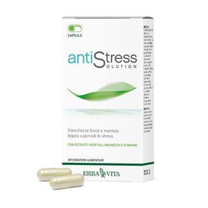 Antistress Solution capsule integratore Erbavita