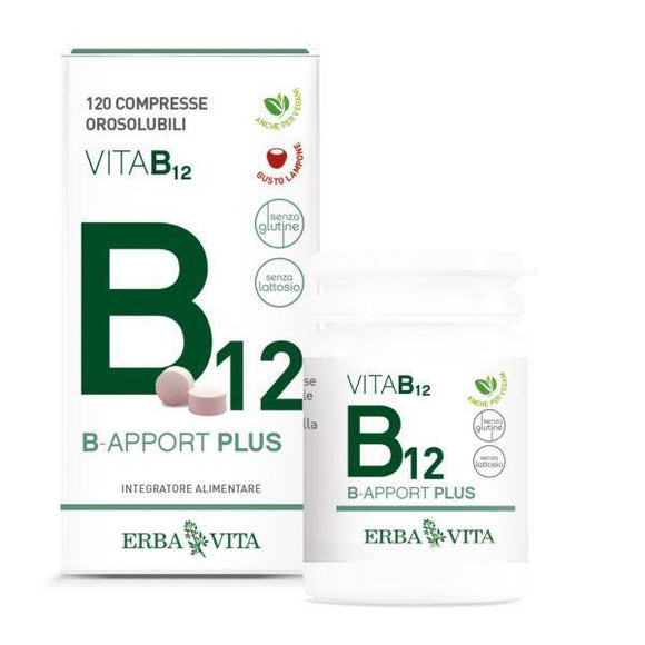 B apport Plus Vitamina B12 integratore Erbavita
