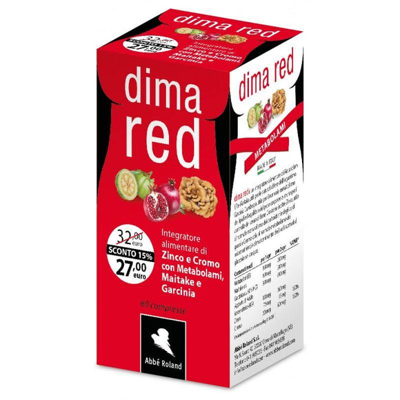 Dima Red Metabolami 60 cpr integratore Abbè Roland