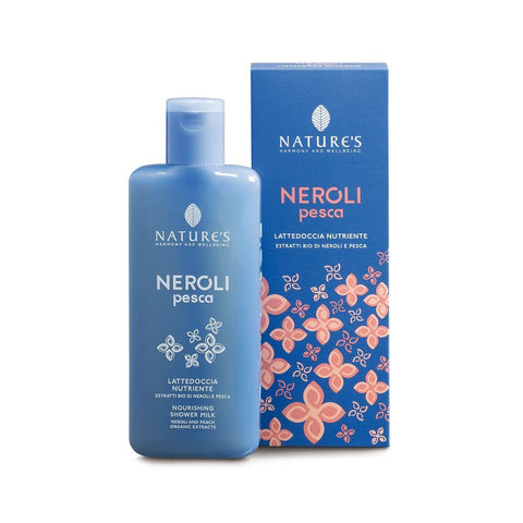 Lattedoccia Neroli Pesca Nature's 200 ml bagnoschiuma Biosline