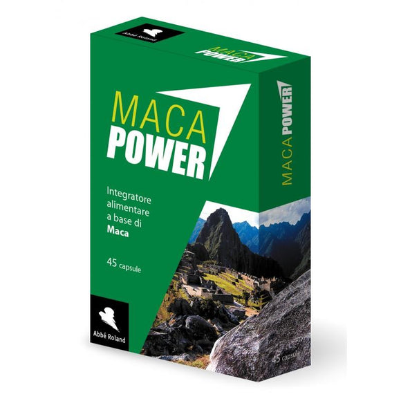 Maca Power 45 cps integratore Abbè Roland