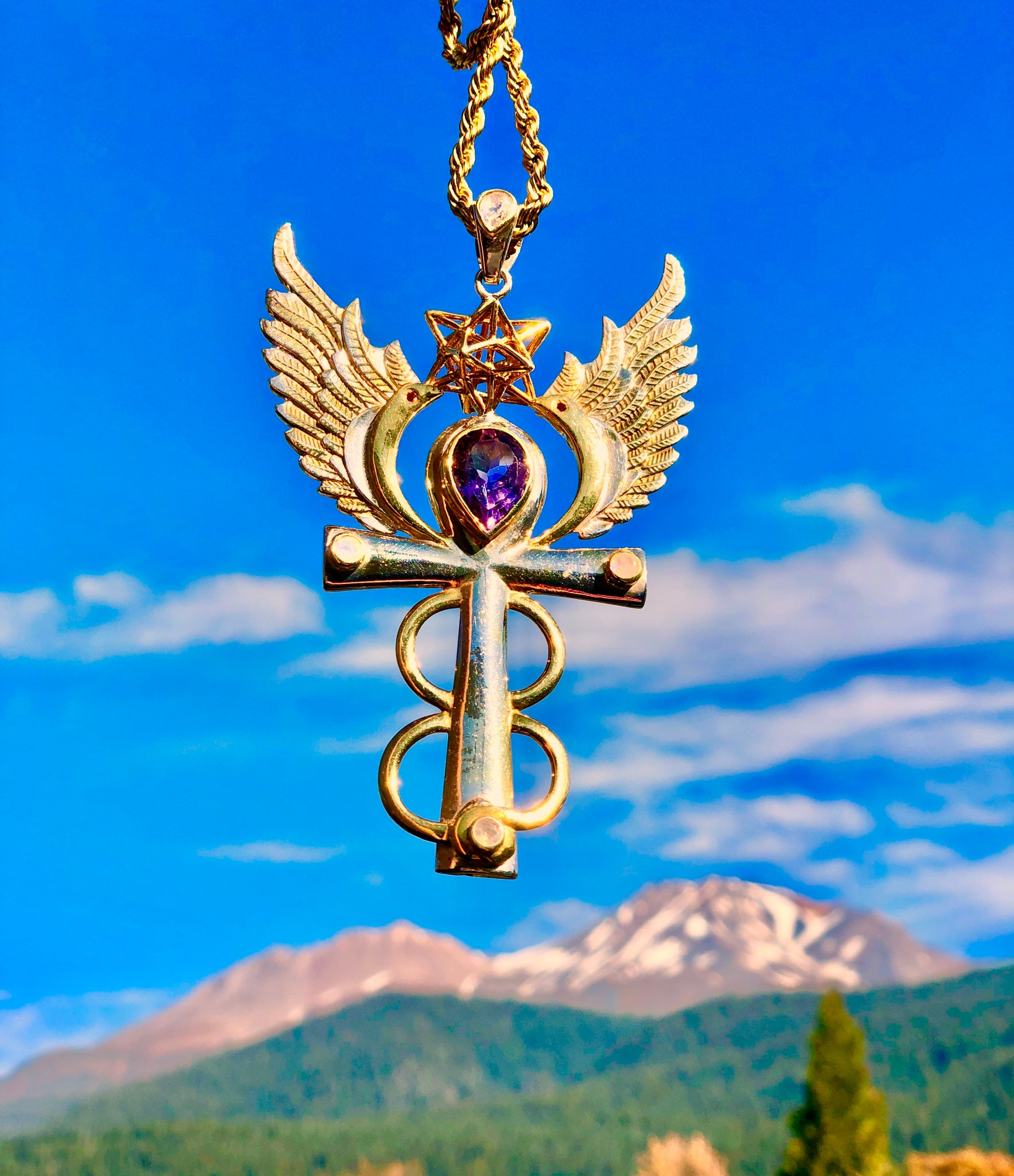 〜 Isis 〜 Egyptian Angel Pendant