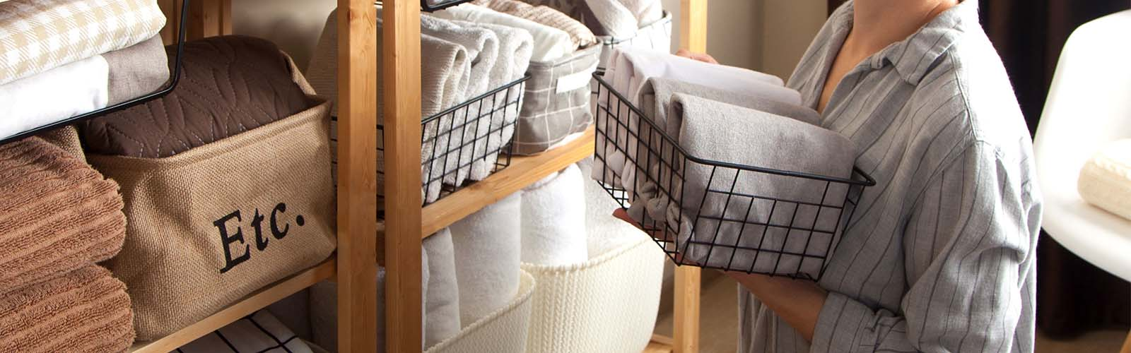 Keep your home tidy with storage and organise products from Intertech