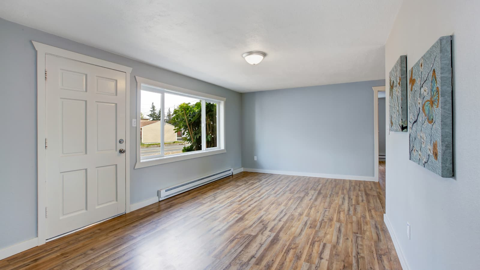 Use Grey to make a room look bigger with paint