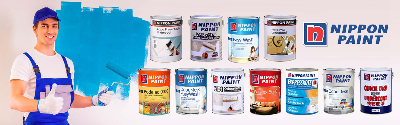 Nippon Paint Shop - Best Paint Store in Singapore