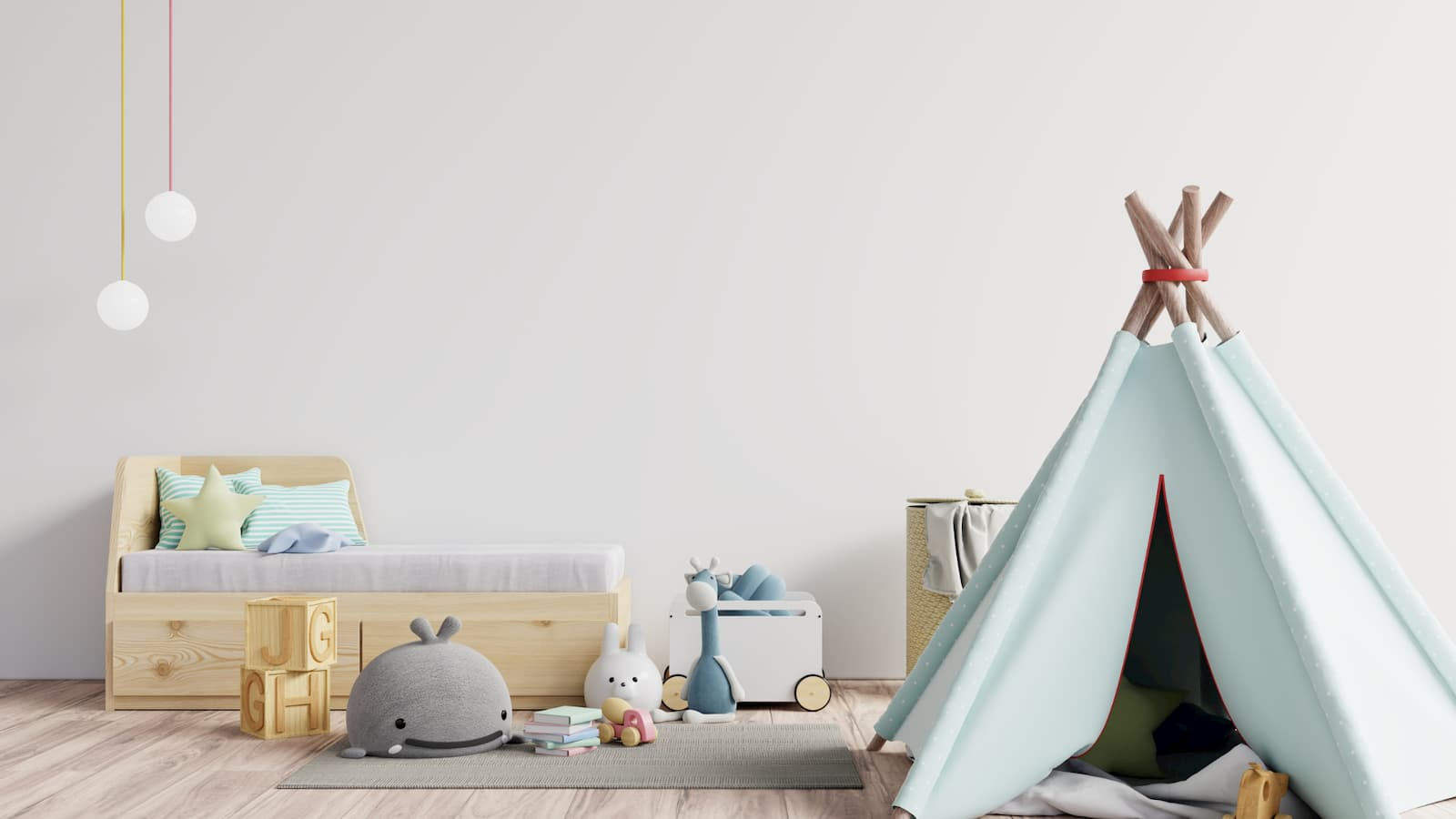 How to use pastel paint colours to make your room look bigger
