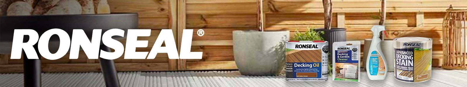 Ronseal wood protection