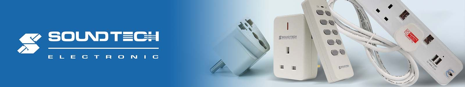 Soundteoh for extension cords, power adapters, power converters, lights and more