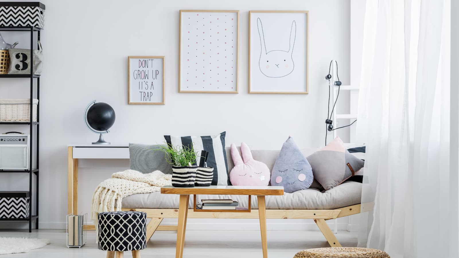 Learn more about how white paint can make your room look bigger